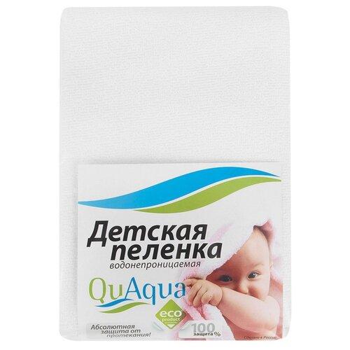 Многоразовые пеленки Qu Aqua наматрасники qu aqua непромокаемый наматрасник натяжной jersey хлопок 120х60