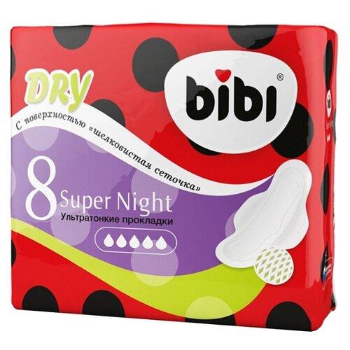 Bibi прокладки Super Night Dry bibi blocksberg der verhexte weihnachtsmarkt