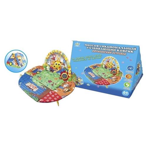 Развивающий коврик S+S Toys инерционная машинка s s toys грузовая 1828 57b