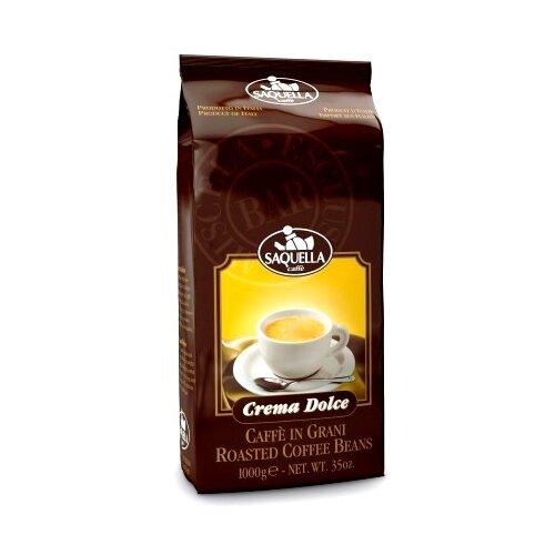 Кофе в зернах Saquella Crema