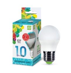 Лампа светодиодная ASD LED-ШАР-STD 4000K, E27, G47, 10Вт
