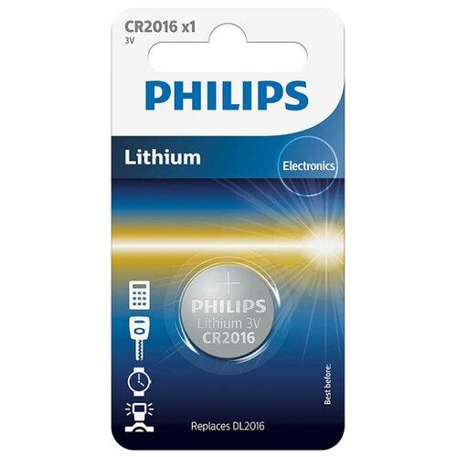 Фото - Батарейка Philips Lithium CR2016 наволочка комплект махровых наволочек яблоня 50 70 см