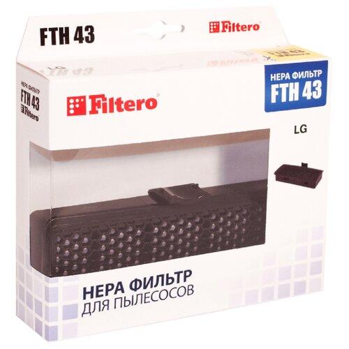 Filtero HEPA-фильтр FTH 43 фильтр filtero fth 01 hepa фильтр