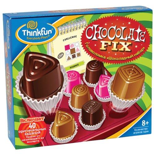 Головоломка ThinkFun Шоколадный головоломка спрячь свои следы thinkfun головоломка спрячь свои следы
