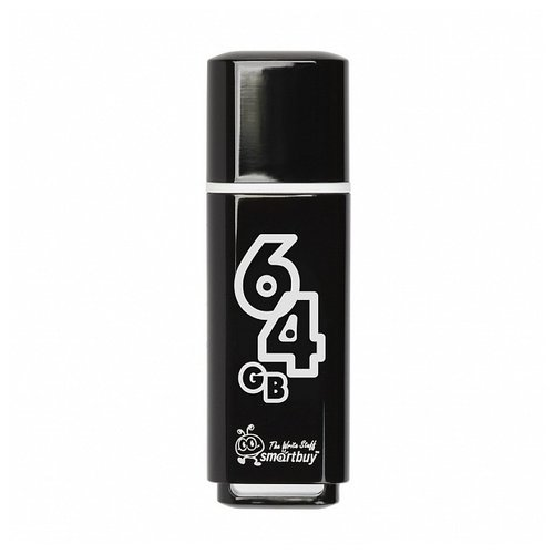 Фото - Флешка SmartBuy Glossy USB 2.0 smartbuy glossy series 64gb usb 2 0 черный