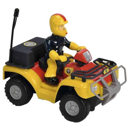 Квадроцикл Dickie Toys Пожарный dickie toys dickie toys радиоуправляемые машинки трансформер sideswipe