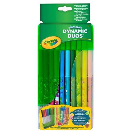 Crayola Фломастеры парные в crayola двусторонние фломастеры crayola