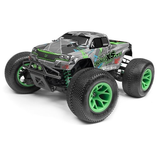 Фото - Монстр-трак HPI Savage XS Flux двигатель hpi 0 21 nitro star f3 5 pro 2013 hpi 110610