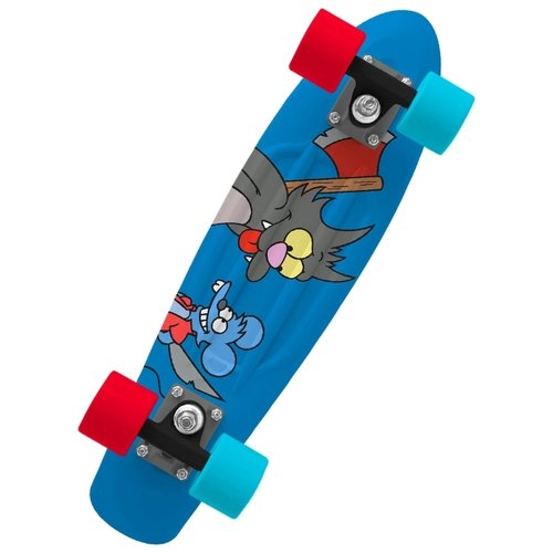 Лонгборд Penny Itchy & Scratchy лонгборд penny simpsons 27 ltd bart