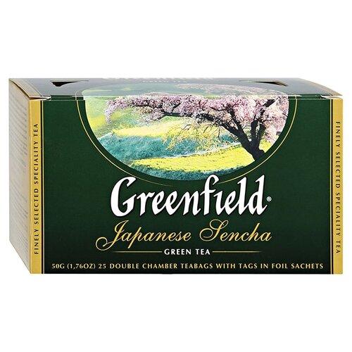 Чай зеленый Greenfield Japanese