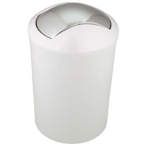Ведро Spirella Malibu 5 л мыльница spirella freddo полистирол белый 8 5х12 5х2 5 см