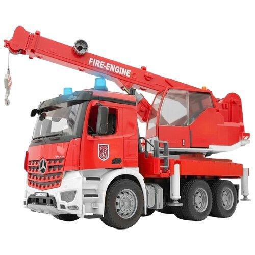 Автокран Bruder MB Arocs 03-675 машины bruder пожарная man автокран