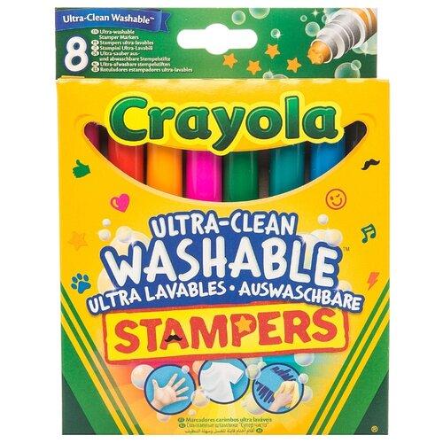 Crayola Фломастеры-штампы crayola двусторонние фломастеры crayola