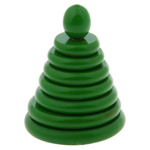 Пирамидка RNToys Зеленая Д-517