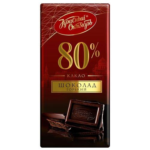 Шоколад Красный Октябрь горький