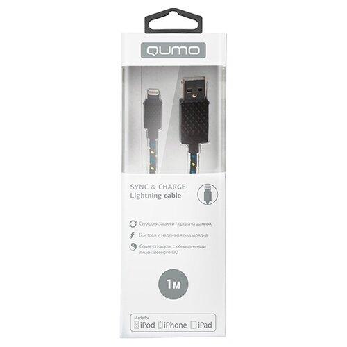 Кабель Qumo USB - Lightning MFI qumo lightning usb mfi rose gold кабель 1 м