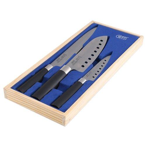 Набор GIPFEL Japanese 3 ножа 6629 кеннел с на острие ножа роман
