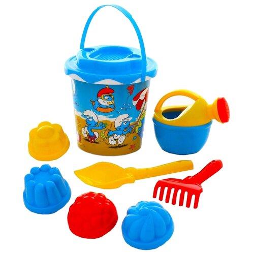 Фото - Набор Полесье Смурфики-2 №3 65179 полесье набор игрушек для песочницы 468 цвет в ассортименте