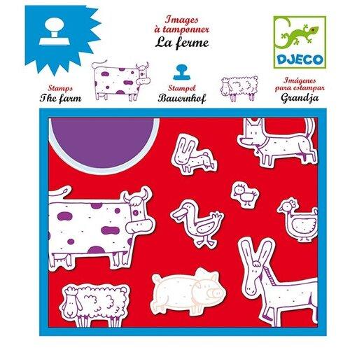 Набор штампов DJECO Ферма 08809