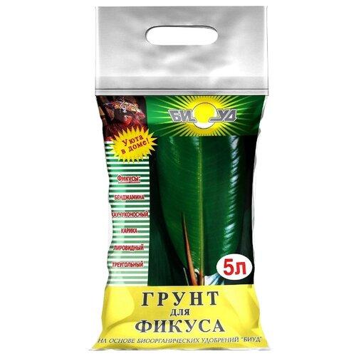 Грунт БИУД для фикуса 5 л. грунт биуд сады семирамиды для фикуса 2 5 л