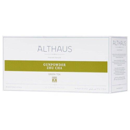 Чай зеленый Althaus Gunpowder фото