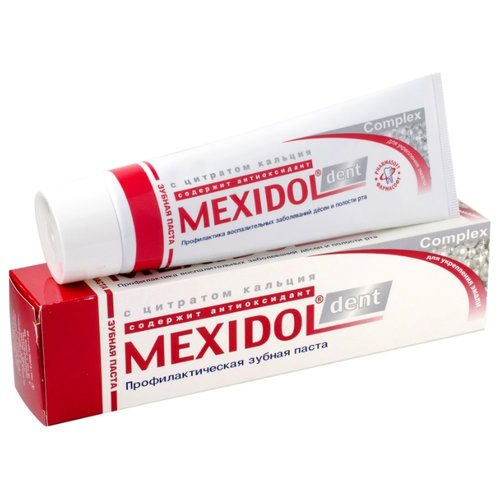 Зубная паста Мексидол Complex фото