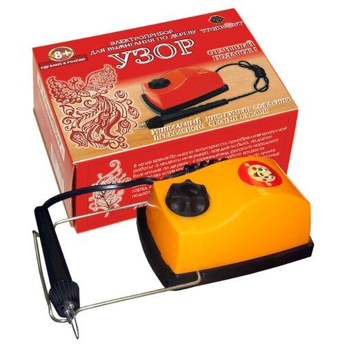 Трансвит Набор для выжигания Узор прибор для выжигания трансвит узор 1 по дереву и ткани картон кор