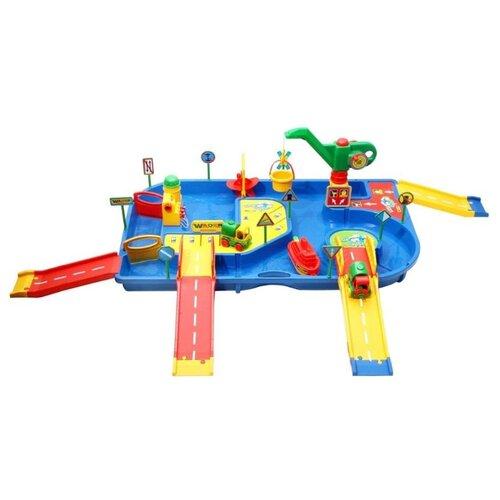 Фото - Трек Полесье Набор Водный мир полесье набор игрушек для песочницы 468 цвет в ассортименте