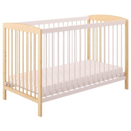 Кроватка Polini Simple 101 кроватка polini simple белый синий