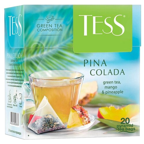 Фото - Чай зеленый Tess Pina colada в pina zangaro