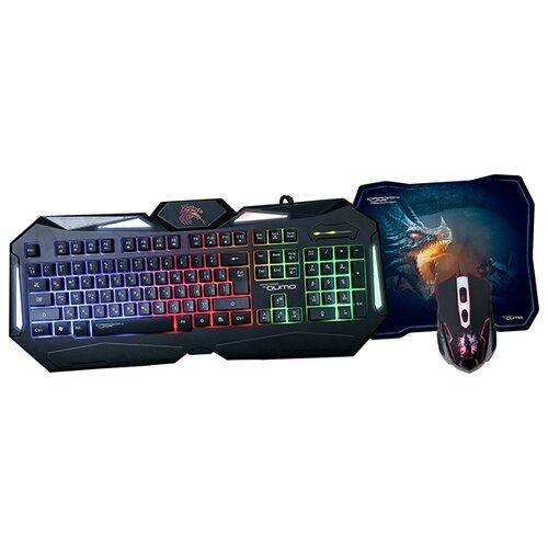 Клавиатура и мышь Qumo Spirit клавиатура qumo dragon war fallen проводная для pc