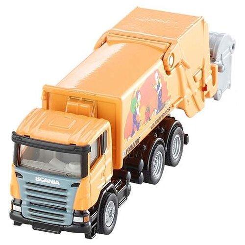 Мусоровоз Siku Scania-R Faun модель машины tekno scania r serie swedish combi ristimaa bee 1 50
