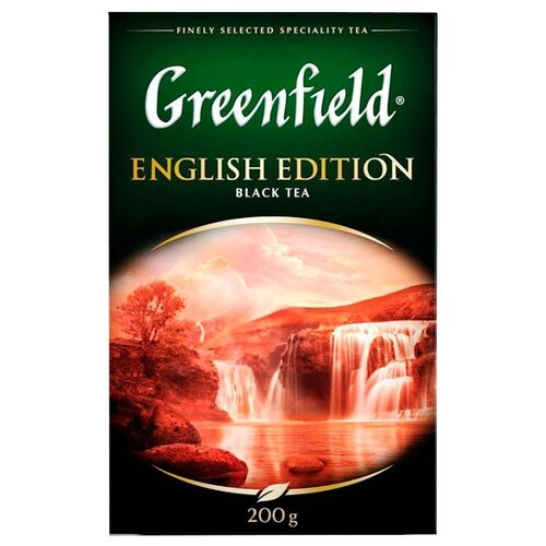 Чай черный Greenfield English greenfield english edition черный листовой чай 100 г