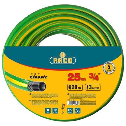 Шланг RACO Classic 3 4 25 метров шланг raco 40306 3 4 25