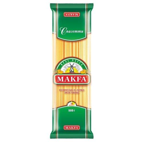 Макфа Макароны Спагетти 500 г granmulino premium спагетти 400 г