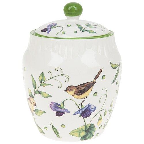 Best Home Porcelain Банка для сахарница best home porcelain спелая клубника 300 мл