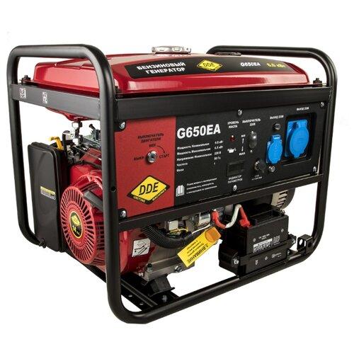 Бензиновый генератор DDE G650EA