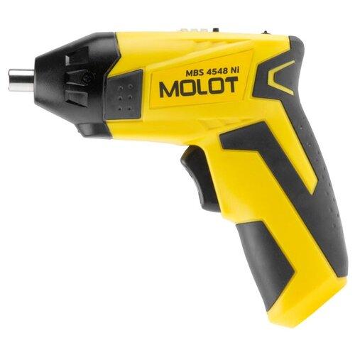 Аккумуляторная отвертка Molot отвертка аккумуляторная ford fe1 60 b