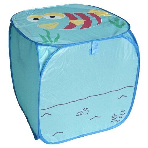 Корзина Наша игрушка Рыбка игрушка