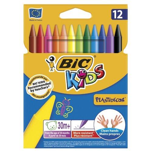BIC Цветные мелки Plastidecor