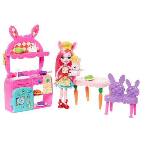 Фото - Набор с куклой Enchantimals mattel набор с мини куклой enchantimals весёлая пекарня петти пиг 15 см