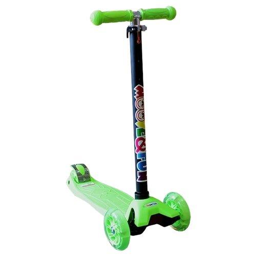 Кикборд Moove&Fun MF-MX17 скейт пластиковый moove fun 22х6 1 pp2206 1 green