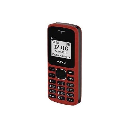 Телефон MAXVI C23 сотовый телефон maxvi b6 red