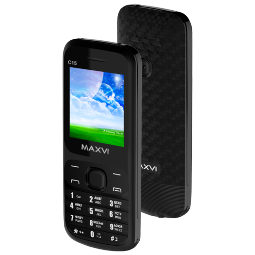 Телефон MAXVI C15 сотовый телефон maxvi b6 red
