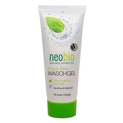 Neobio очищающий гель для лица