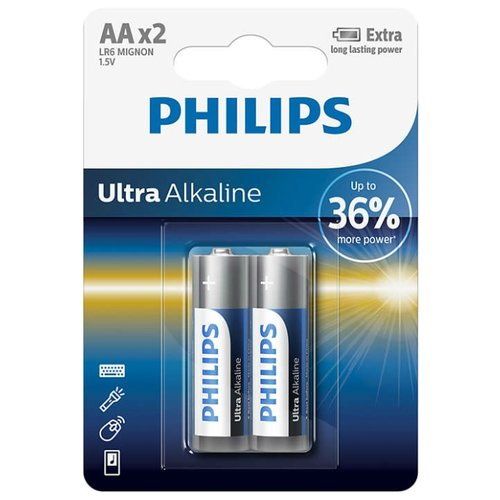 Фото - Батарейка Philips Ultra аксессуар philips swv2255w 10