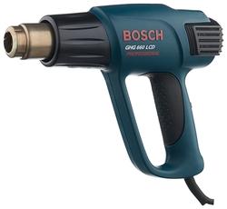 Профессиональный строительный фен BOSCH GHG 660 LCD Professional nozzle x5 Case