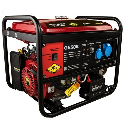 Бензиновый генератор DDE G550E