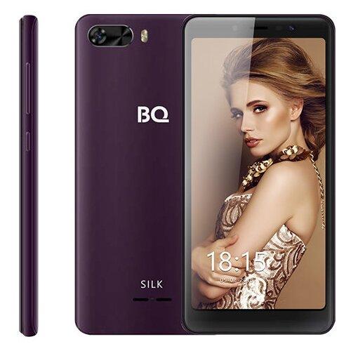 Смартфон BQ 5520L Silk сотовый телефон bq bq 5520l silk brown