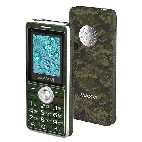 Телефон MAXVI T3 сотовый телефон maxvi b6 red